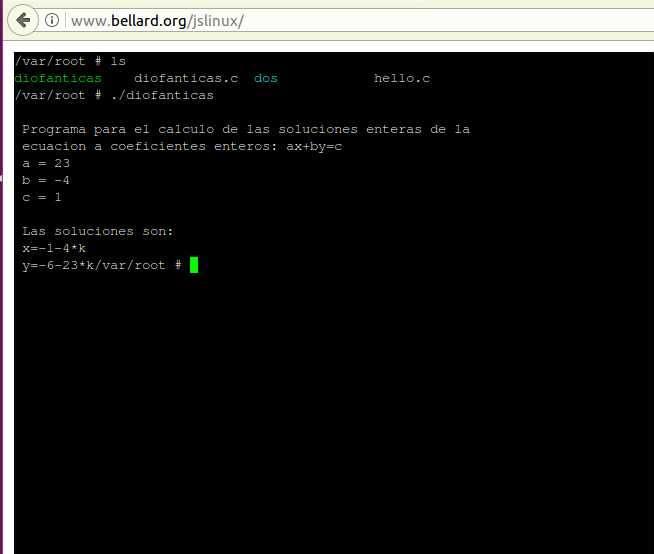 Emulador de PC con Javascript
